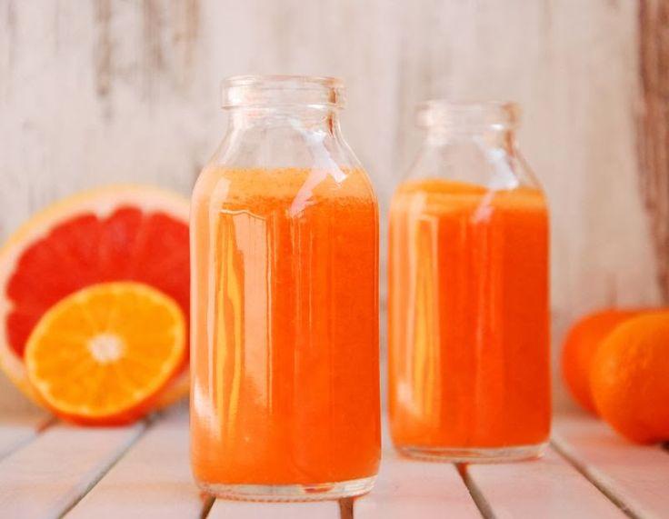 Orzeźwiający sok z grejpfruta