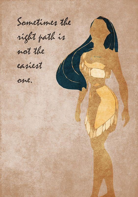 Pocahontas inspired design.
