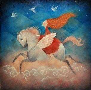 Sophie flies... by Lupi Lu