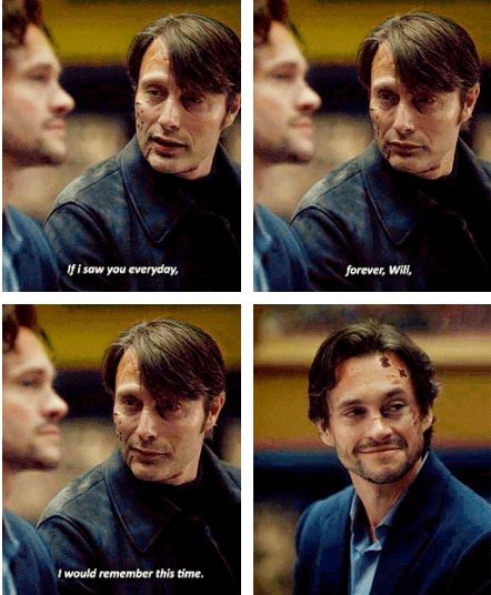 Strange, seeing you here in front of me. Hannibal 3x06 Dolce. Source: psychiartist.tumblr