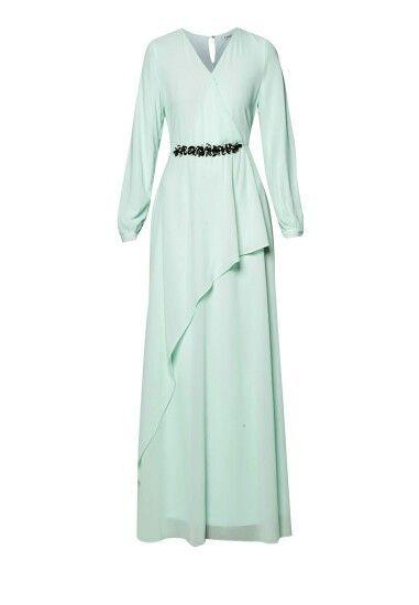 Long dress..