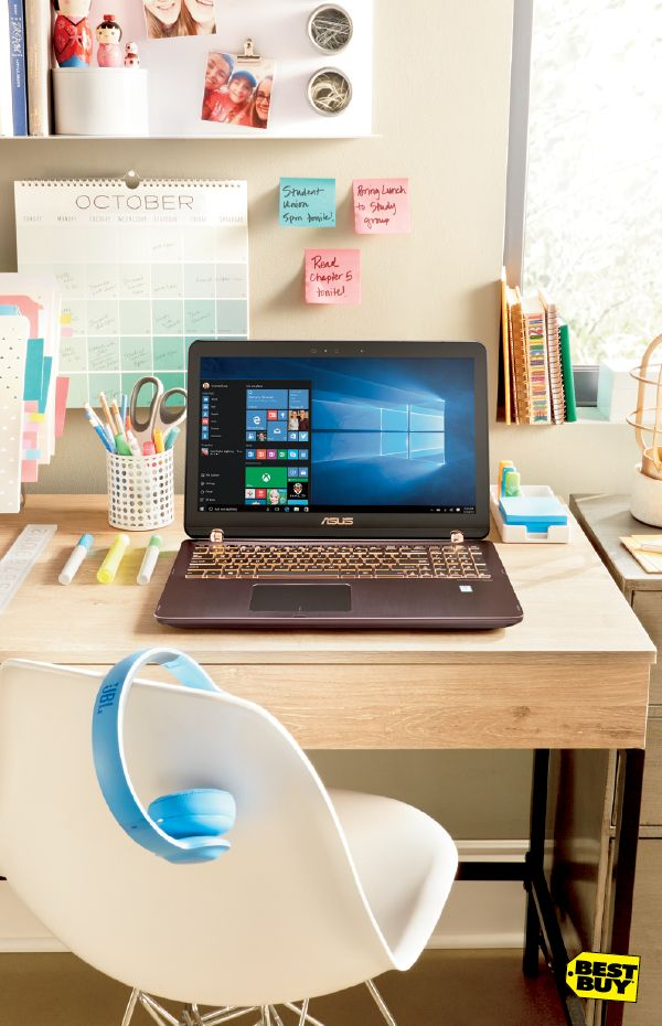 Headed back to school? Head in and check out the latest, greatest computers featuring Intel processors. They're fast enough to do whatever you have to do, like school projects, and whatever you want to do, like gaming and movies. Either way, Intel makes back-to-school simple.
