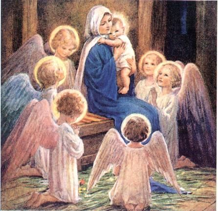 How happy is the loving soul when it has found Jesus with Mary, His Mother…