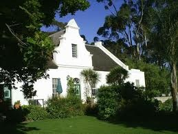 Typical Cape Dutch Architecture, South Africa