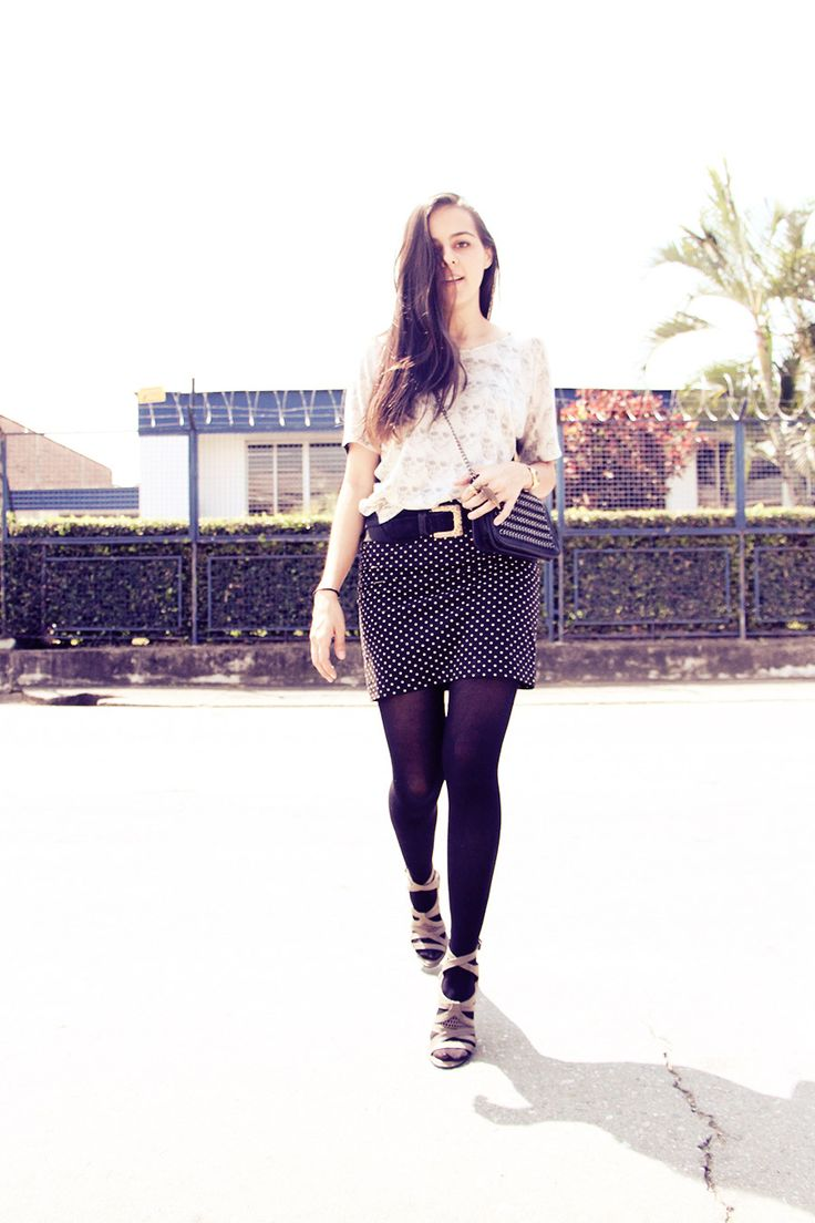 Fashion blogger, skirt, combination, style, fashion, photography