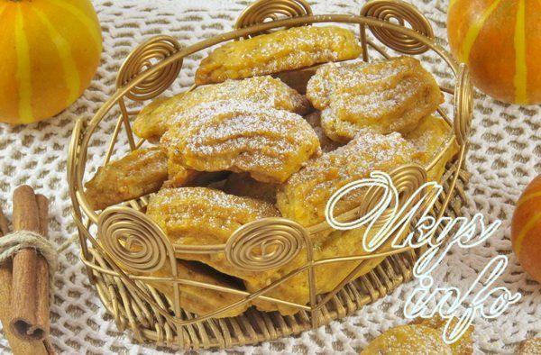 рецепт Печенье с тыквой и овсяными хлопьями
