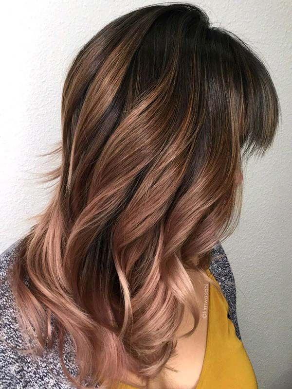 Soft Cool Toned Ash Brown Balayage Hairs 2019 Balayage Hair