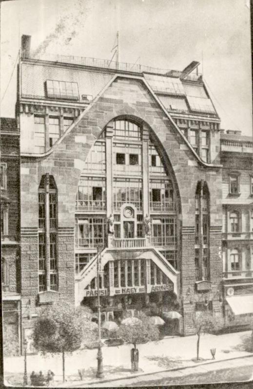 Párizsi Áruház, 1911.