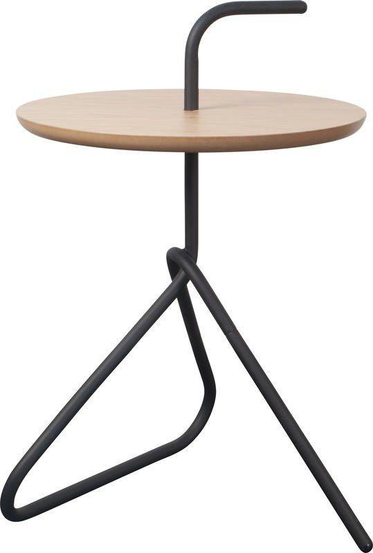 Handle Sidebord - Dette smarte sidebord kan med sit unikke undseende, give lidt ekstra til indretningen. Som navnet også fotæller, har bordet et håndtag, som gør det praktisk at flytte rundt på. Derudover giver håndtaget og de kunstneriske ben også et moderne touch og gør dette bord lidt ud over det sædvanlige.