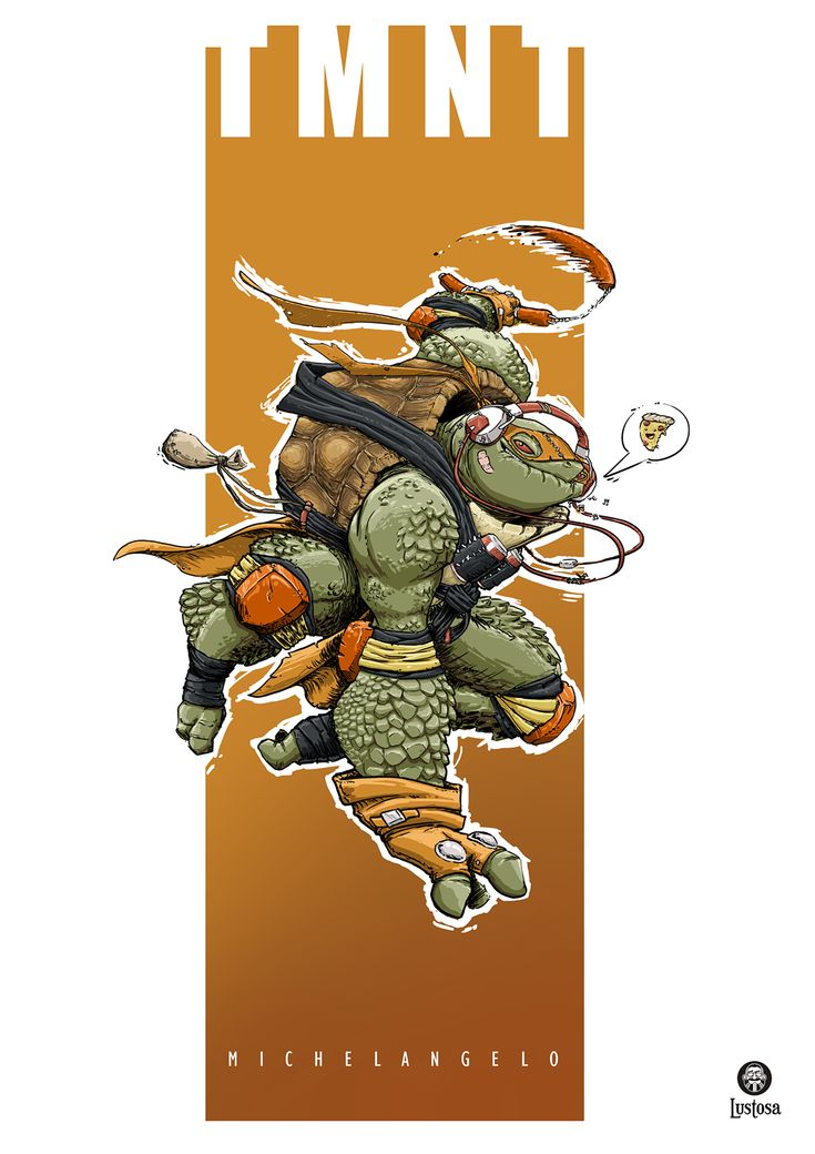 TMNT Fan Art on Behance by Daniel Lustosa