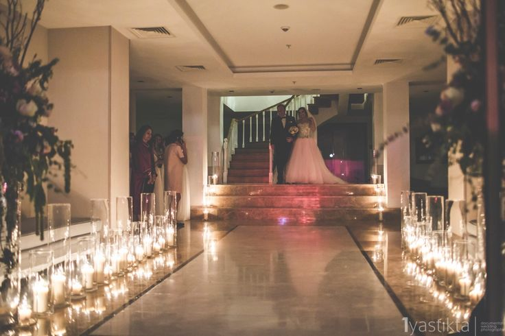 Bride and her father's way of wedding ceremony