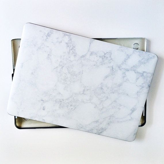Marble and Silver Mac Book Air 11, 13, and Mac Book Pro 13, 15, New 12