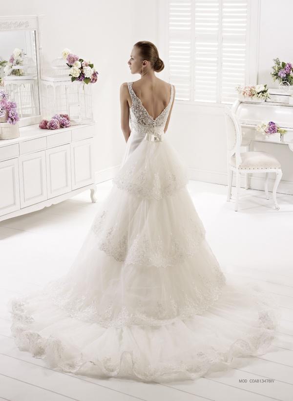 Collezione abiti da sposa #Colet 2013, abito da #sposa COAB13478IV