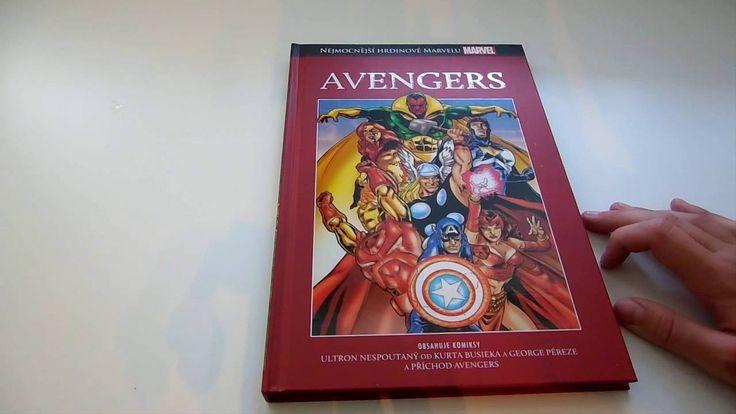 Nejmocnější hrdinové Marvelu | Avengers | unboxing a první dojmy