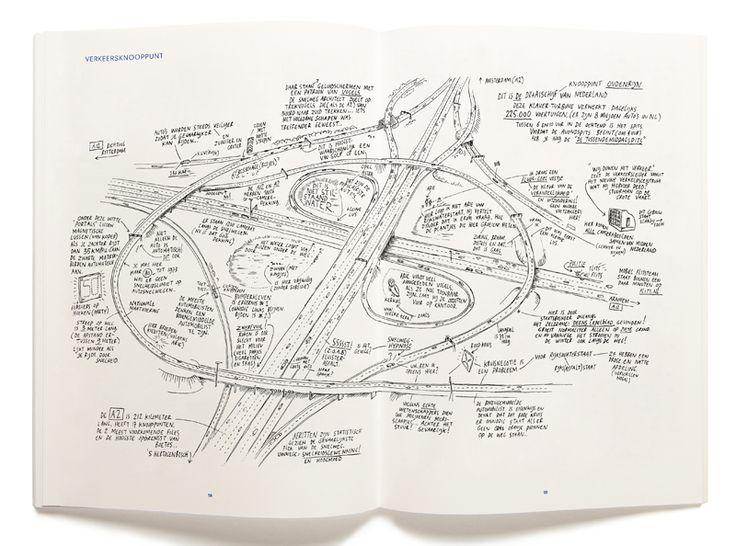 De Zachte Atlas van Amsterdam by Roosje Klap, illustrations by Jan Rothuizen