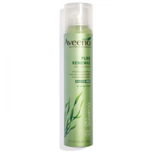 Best Dry Shampoo: Aveeno Pure Renewal Dry Shampoo ($8; drugstores) - Shape Magazine