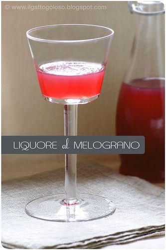 liquore al melograno #TuscanyAgriturismoGiratola