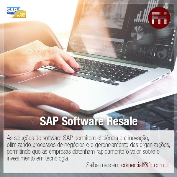 A FH é revendedora oficial e certificada de licenças de software SAP! O modelo de licenciamento da SAP visa maximizar os benefícios empresariais do software, fornecendo licenças e pacotes específicos para a necessidade do cliente.  Garanta a sua licença com quem é Gold Partner SAP! Fale agora mesmo com nosso time comercial no comercial@fh.com.br! #FH2017 #Consulting #SAP