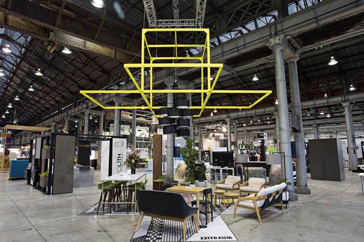 Cafe Culture + Insitu at Sydney Indesign 2015 showcased the Zeitraum furniture and lighting range.