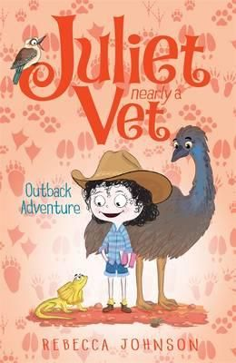 Hi! I'm Juliet. I'm ten years old. And I'm nearly a vet! It's really hot and dry in the outback where my grandparents live. I'm so excited that Chelsea is coming with us to visit them. I wonder what outback animals we'll see? My cousin Jarrod will be there, but I get the feeling he doesn't like me very much and - even worse - he doesn't seem to like animals! Maybe this is my chance to change his mind ...