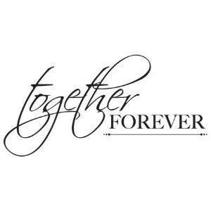 Together Forever verse.