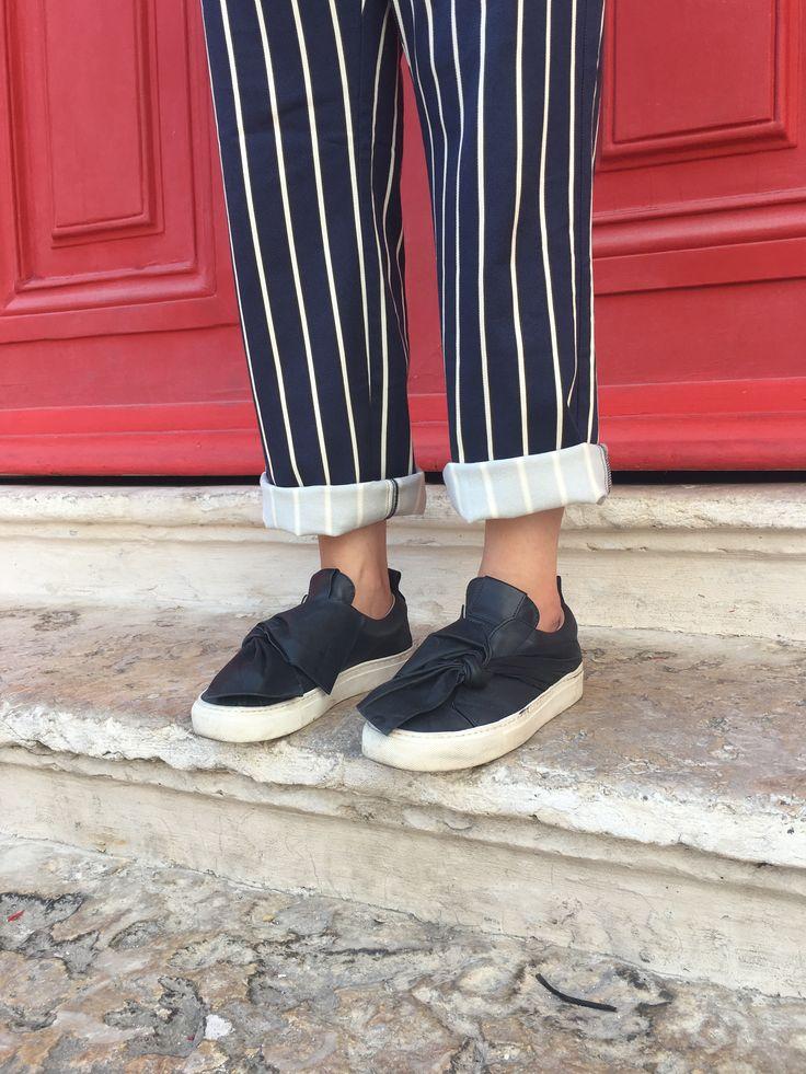 The perfect pair of sneakers: Josefinas Blue Rise. #JosefinasPortugal
