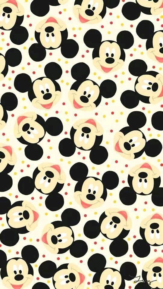 Têtes MickeY Mousse ~ [⭐️WallPaper⭐️]