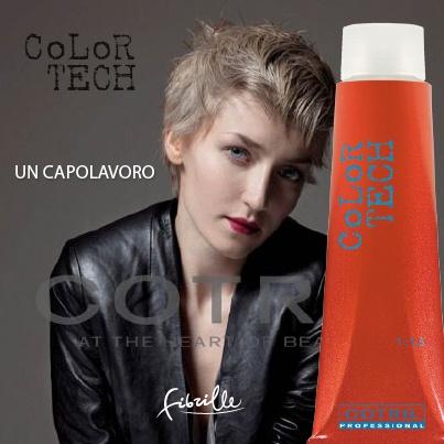 UN CAPOLAVORO Color Tech oltre il colore. Un trattamento dalla tecnologia innovativa della creatina, amato dai Parrucchieri per la perfezione dei colori, ricchi, intensi, brillanti, con una perfetta copertura del 100% sui capelli bianchi e con un risultato naturale, fedele alle ciocche.