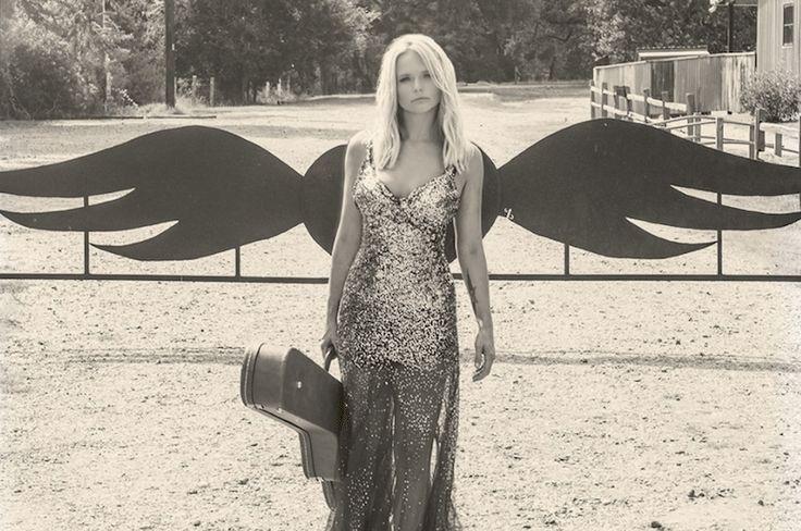 "Miranda Lambert's ""weight of these wings"" shot at junk gypsy world headquarters"