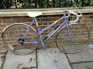 PEUGEOT LADIES ROAD BIKE 10 SPEED MAUVE 53 CM FRAME GREAT CONDITION Finsbury Park Picture 1