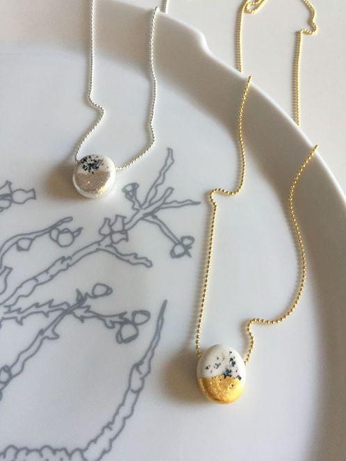 Ketting Dutchblue goud #dutchdesign #studiodewinkel