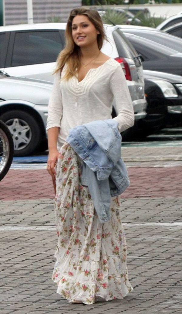 Street style look Sasha Meneghel