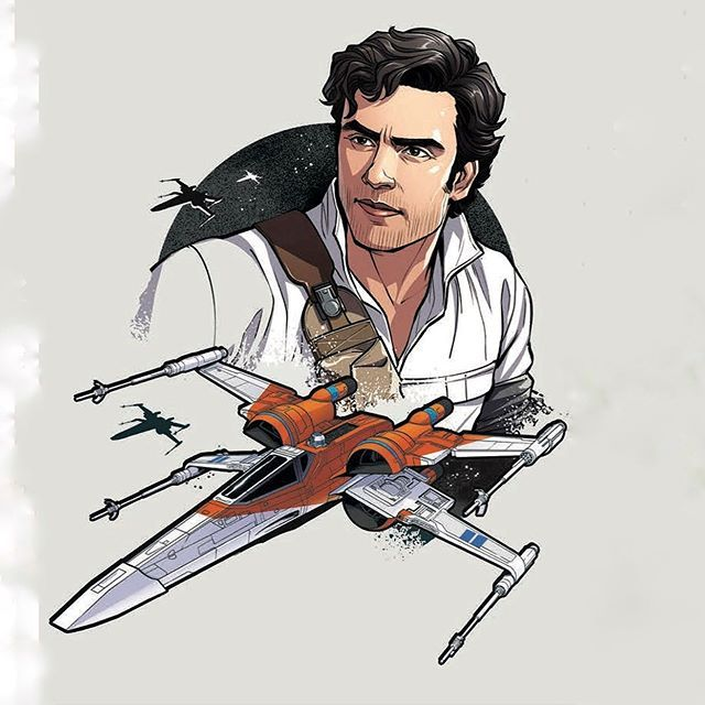 Poe Dameron His New X Wing Star Wars The Rise Of Skywalker Kyloren Supremeleaderren Thefirstorder Firs Star Wars Drawings Finn Star Wars Rey Star Wars