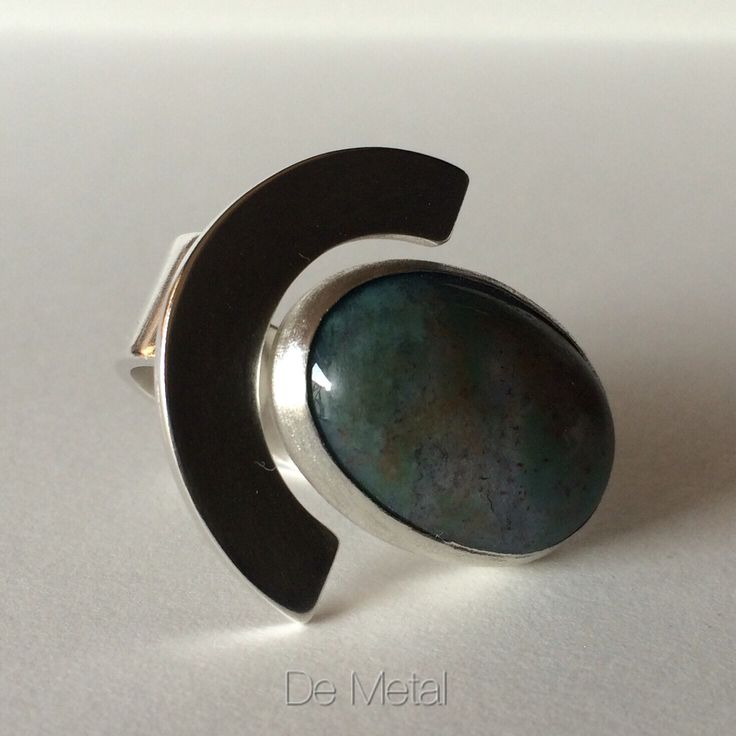 De plata y piedra ..... ( silver and stone ..... Ring )