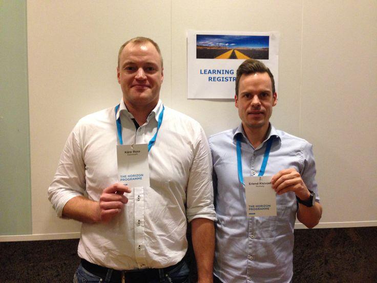 Learning partners: Kåre & Erlend