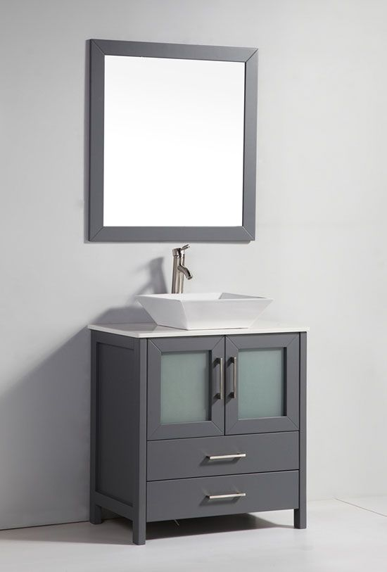 17 best ideas about 30 inch bathroom vanity on pinterest for Gray 30 inch bathroom vanity