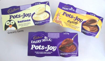 Grocery Gems: New Cadbury Pots of Joy - Dairy Milk Review