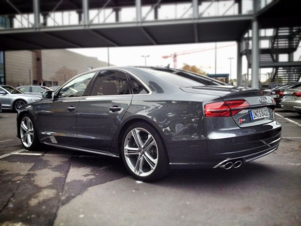 Audi S8 - updated for 2014 and driven, fast