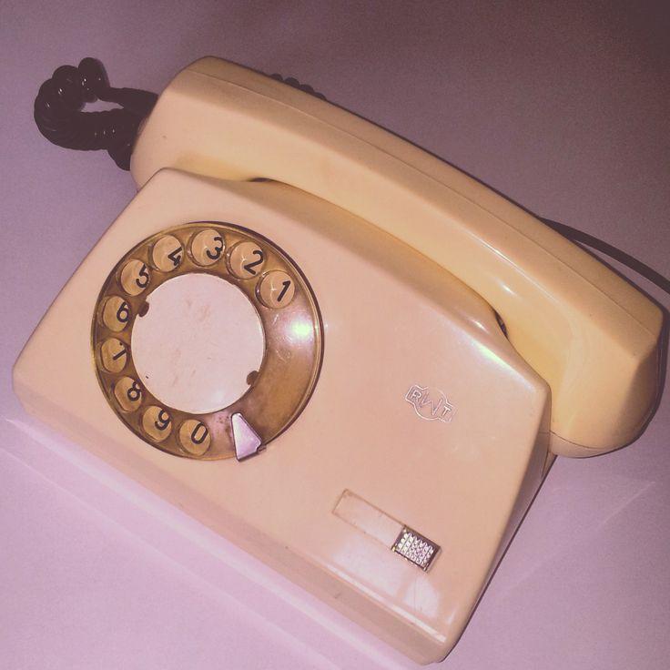 Telefon tarczowy #phone #prl
