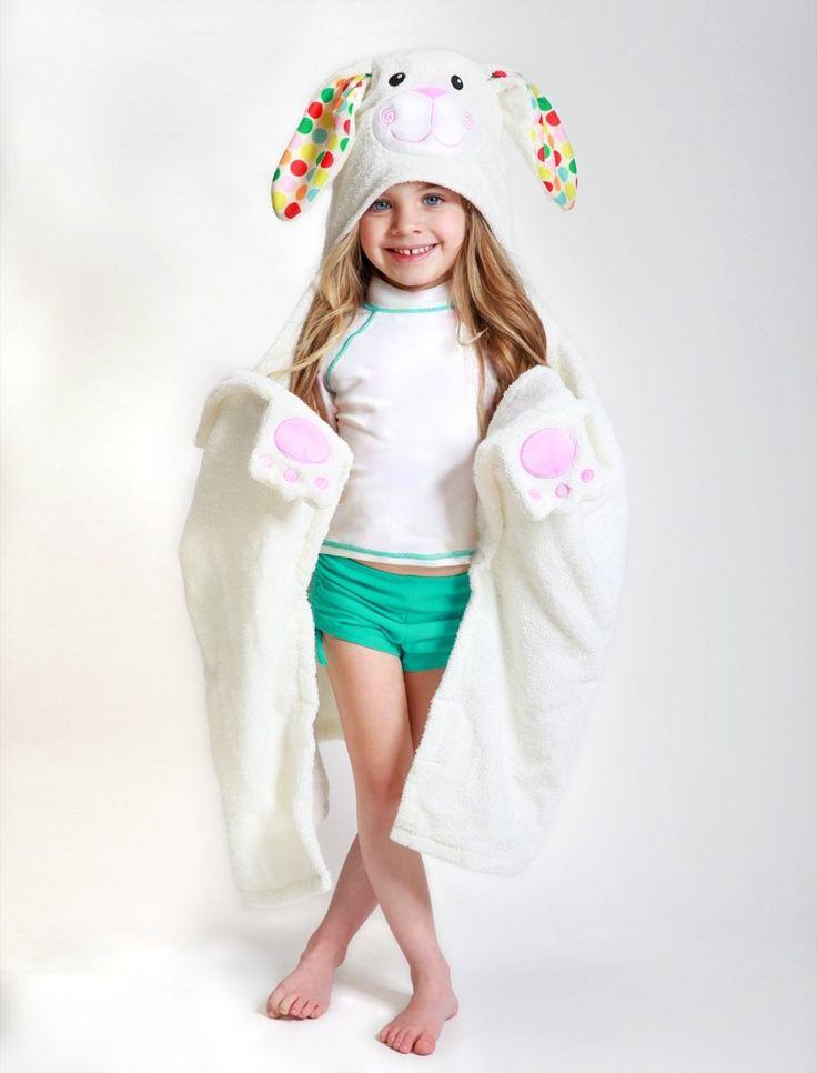 Полотенце с капюшоном для детей #zoocchini #abumba