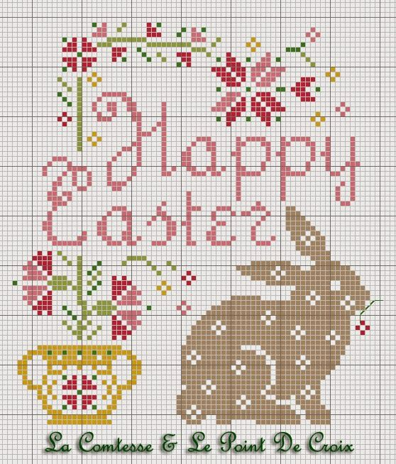 Lacomtesse&lepointdecroix: Easter Bunny Free