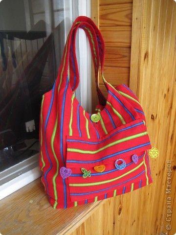 Шила сумку в качестве презента-дополнения к подарку на день рождения сестры. фото 1
