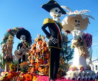 """November brings the unique occasion of Dia de los Muertos to San Antonio. The Mexican day of celebration literally means """"Day of the Dead."""" The holiday gathers together family and friends to pray a…"""