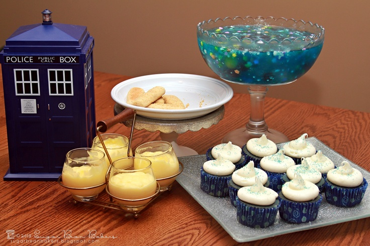 Sugar Bean Bakers: {Doctor Who Party}