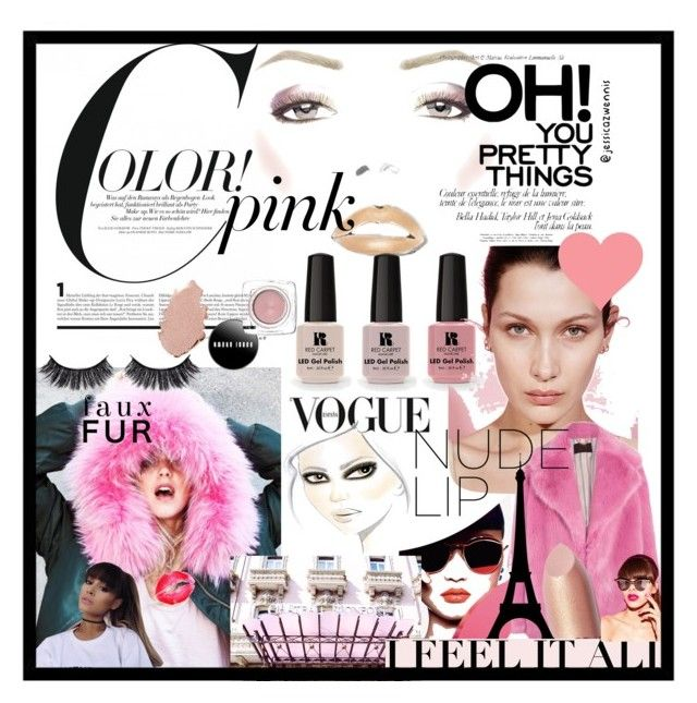 Color! #PINK 💗 by jessicazwennis on Polyvore featuring polyvore, beauty, Ecologica and Victoria's Secret