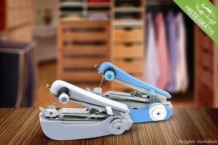 Minimáquina de costura para pequenos reparos, por apenas R$29.90
