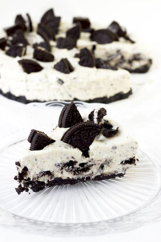 Wauw! Deze oreo cheesecake taart is zó ontzettend lekker en onwijs makkelijk om…
