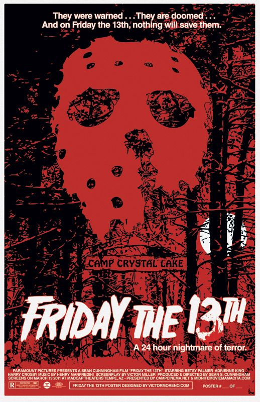 Friday the 13th (1980)poster by Victor Moreno | Friday the ...