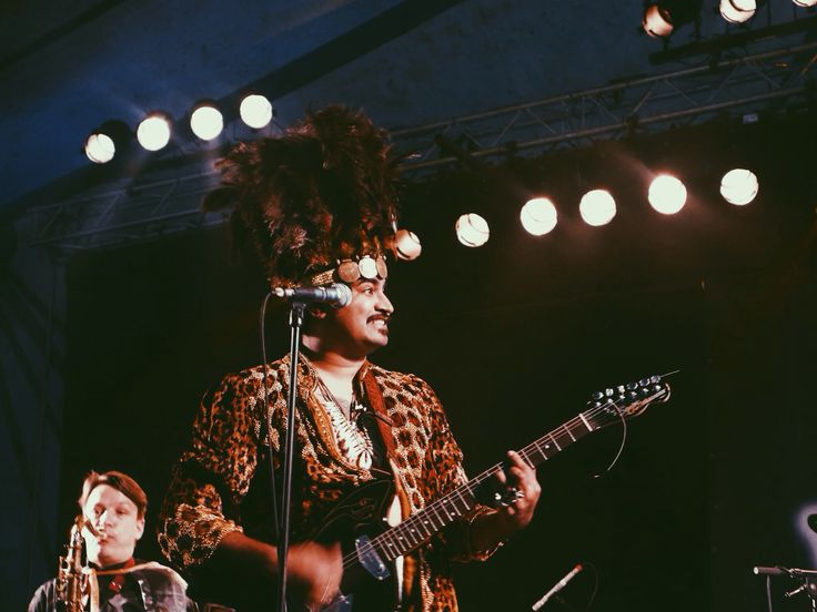 King khan and The shrines at roots and roses festival taken by Charlotte Bidée®