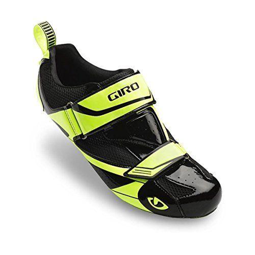 Giro Mele Triathlon Shoes Black/Highlight Yellow, 44.5 - http://www.exercisejoy.com/giro-mele-triathlon-shoes-blackhighlight-yellow-44-5/fitness/
